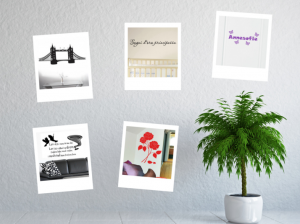 Wallstickers i eget design